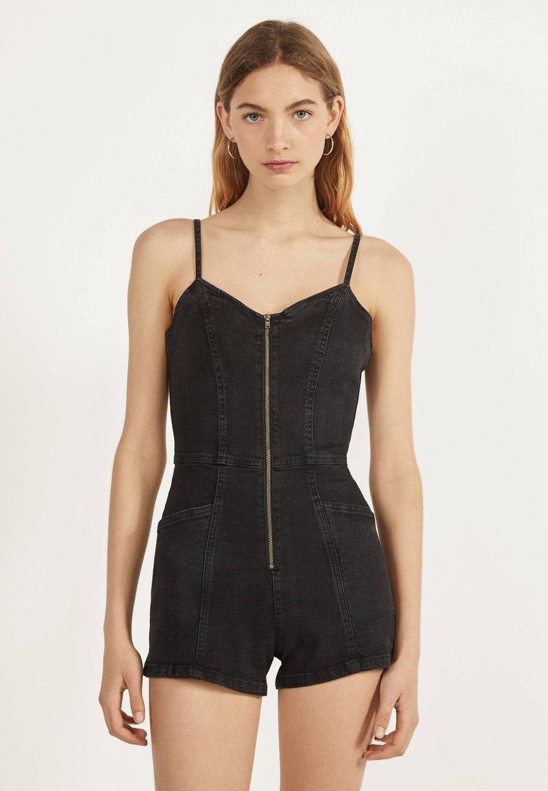 Bershka - Jumpsuit - black