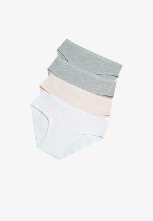 4ER-PACK - Briefs - bianco/rosa/grigio/grigio