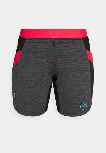 CIRCUIT - Pantaloncini sportivi - black/hibiscus