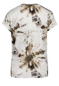 Cartoon - MIT V-AUSSCHNITT - Print T-shirt - white/khaki - 1