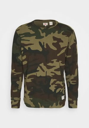 LS MIGHTY MADE TEE - Longsleeve - tactical blocking pha