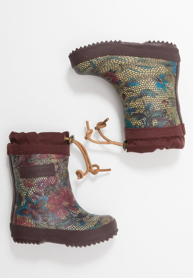 THERMO BOOT - Gummistiefel - bordeaux
