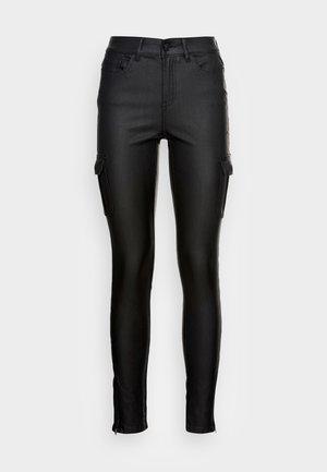 ONLANNE MID COAT - Cargo trousers - black