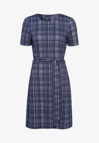 zero - Day dress - velvet blue - 4