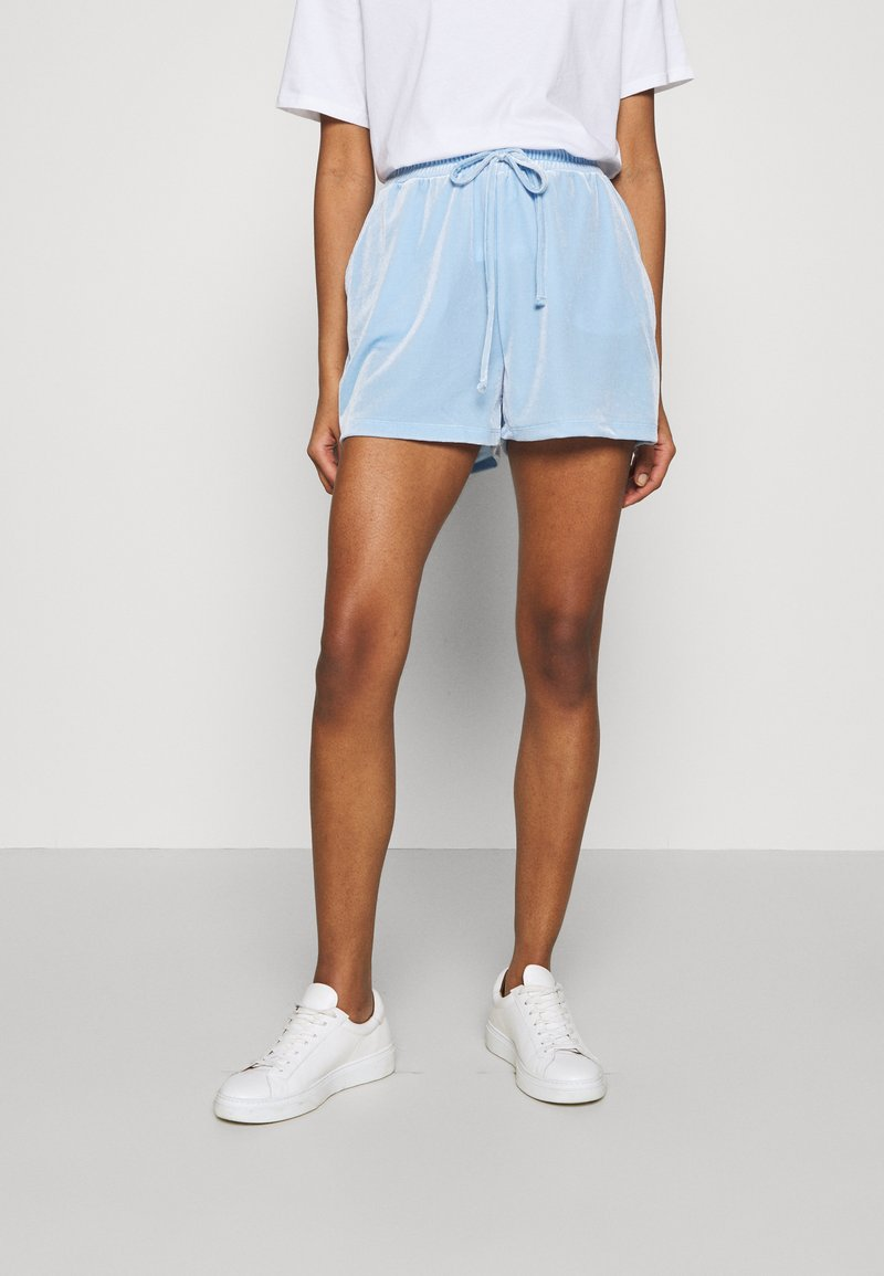 Pieces - Shorts - blue bell