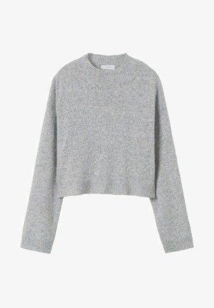 JASPÉE - Maglione - gris chiné clair