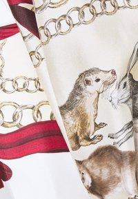 Victoria Beckham - DRAPED SLEEVE DRESS - Occasion wear - cream/bordeaux - 8