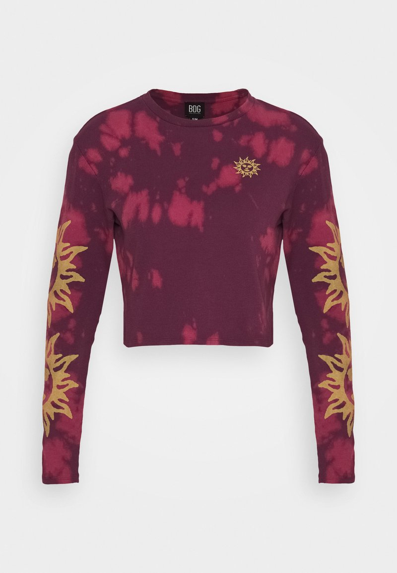BDG Urban Outfitters - SUN WAFFLE SKATE TEE - Long sleeved top - purple