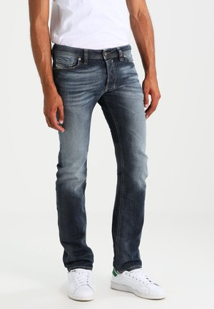 SAFADO - Straight leg jeans - bleu