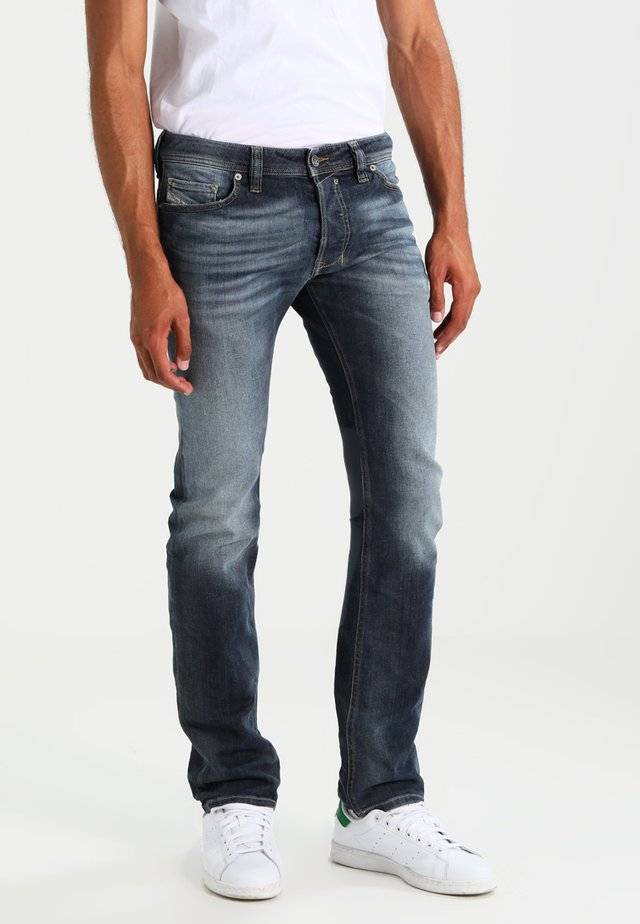 SAFADO - Jeans straight leg - bleu