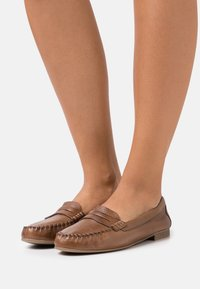 Anna Field - LEATHER - Slip-ons - brown - 0
