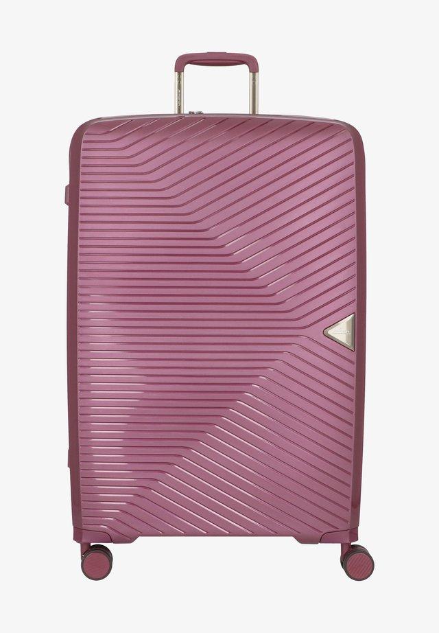 Valise à roulettes - purple metallic