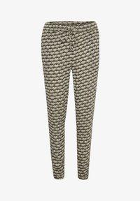 Kaffe - ROKA AMBER PANTS - Trousers - grape leaf  fan print - 3