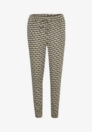 ROKA AMBER PANTS - Trousers - grape leaf  fan print