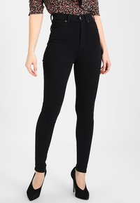 Dr.Denim Petite - MOXY HIGH RISE - Jeans Skinny Fit - black - 0