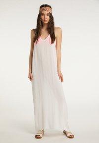 IZIA - Maxi dress - wollweiss - 0