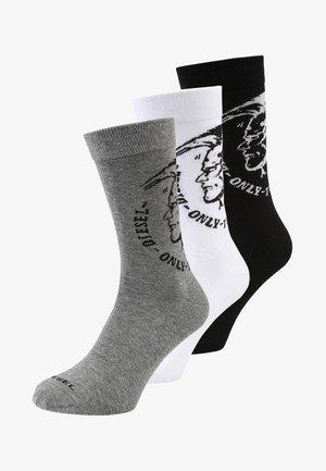 RAY SOCKS 3PACK - Socks - schwarz/weiß/grau