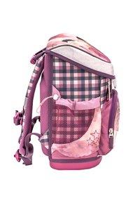 Belmil - SET - School bag - dark red - 4