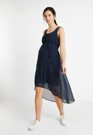 MLELINA DRESS - Vestido largo - navy blazer