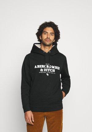 ICON HOOD  - Sweatshirt - black