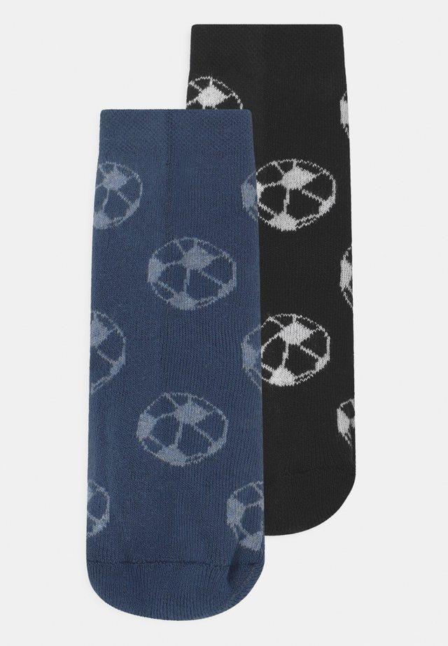 SOFTSTEPS SOCCER 2 PACK - Chaussettes - blue/black