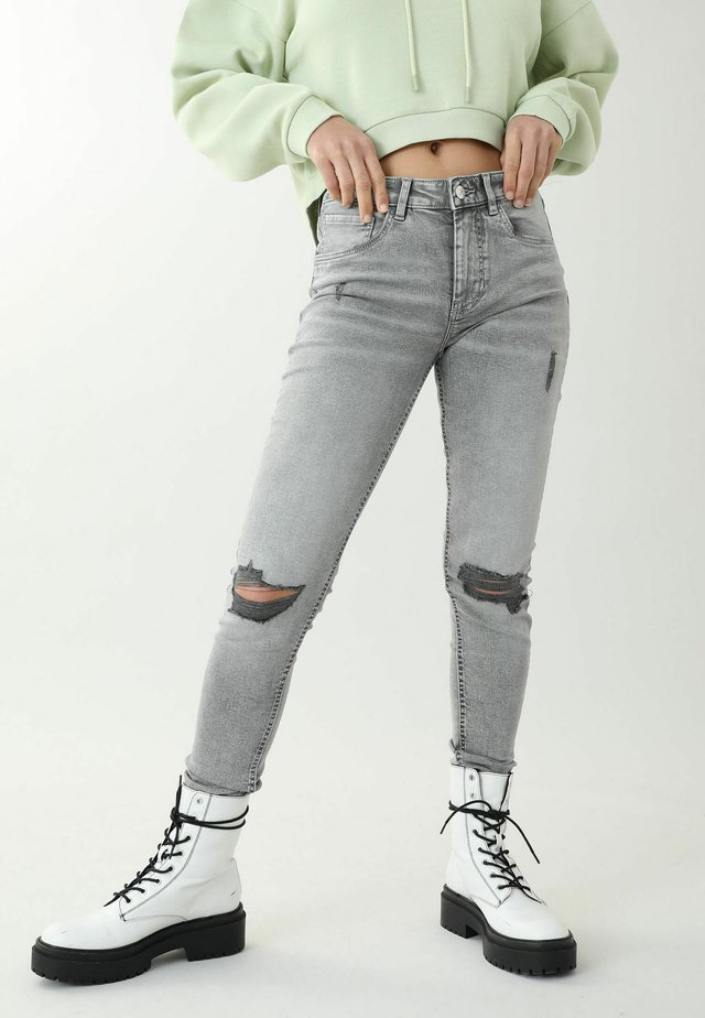 Skinny džíny - grau