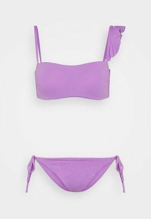 INSIDE WIRE PAD - Bikini - lila