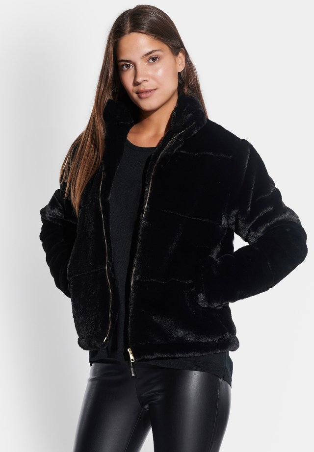 FELLIMITAT-JACKE - Winter jacket - schwarz