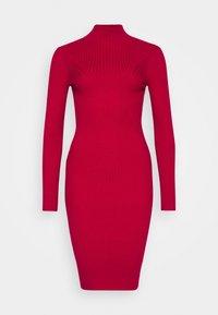 Fashion Union Petite - PHERSON - Strikket kjole - red - 5