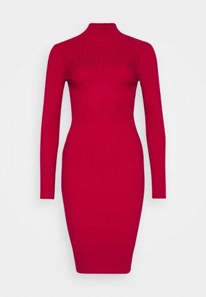 PHERSON - Jumper dress - red