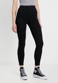 Topshop - JONI NEW - Jeans Skinny Fit - black - 0