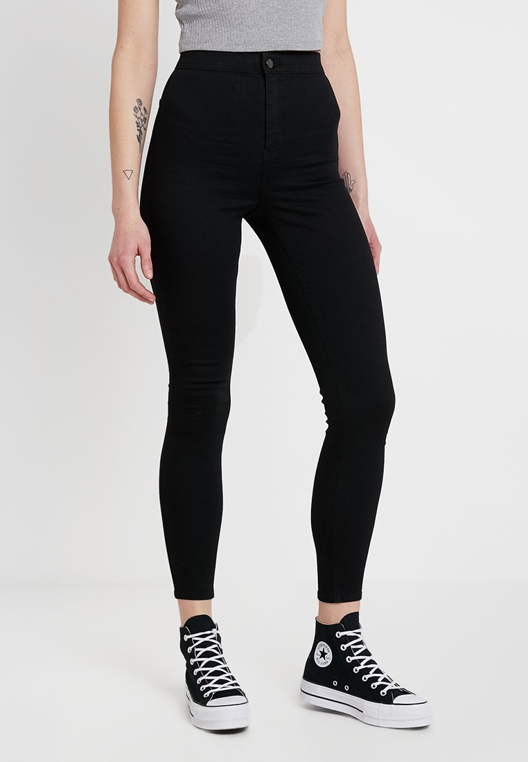 Topshop - JONI NEW - Jeans Skinny Fit - black