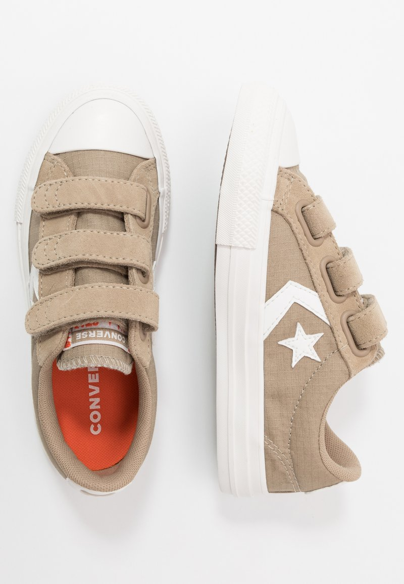 Converse - STAR PLAYER - Trainers - khaki/vintage white