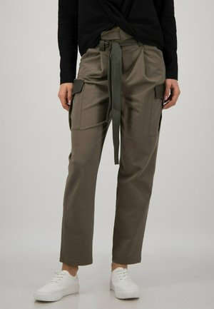 PAPERBAG  - Cargo trousers - ivy green