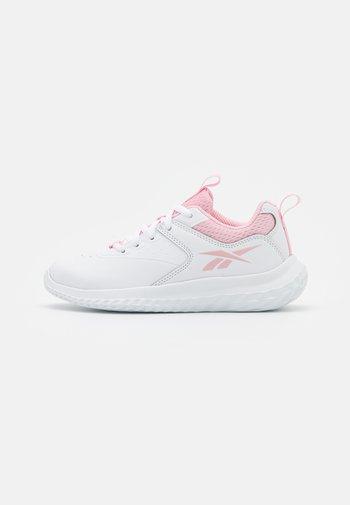 RUSH RUNNER 4.0 UNISEX - Juoksukenkä/neutraalit - footwear white/pink glow