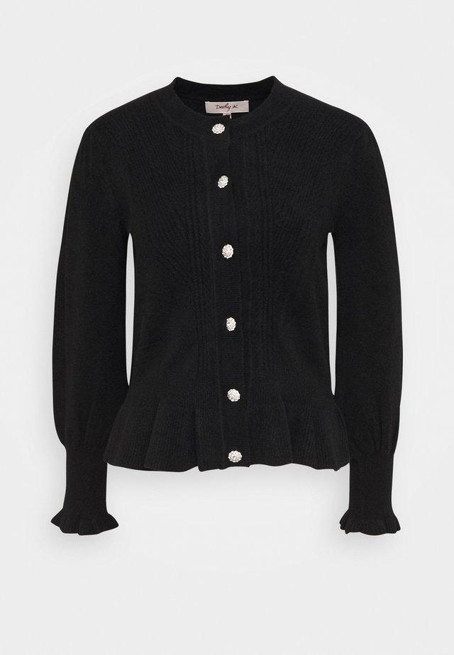 MADERE GILET MAILLE - Vest - black