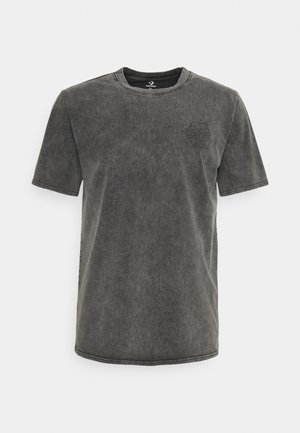 FASHION CUT AND SEW TEE - Print T-shirt - black