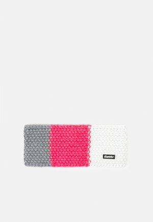 JAMIES FLAG UNISEX - Ohrenwärmer - graumele/pinkmeliert/white