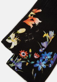 Desigual - GLOVES FLOWERISH - Rukavice - black - 3