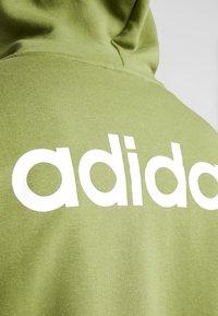 adidas Performance - ESSENTIALS SPORTS HOODED TRACK - Sweatjacke - tech olive - 5
