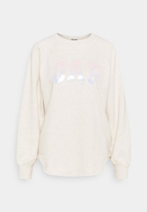 SHINE TUNIC - Sweatshirt - oatmeal heather