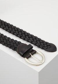 TOM TAILOR - Cinturón trenzado - schwarz - 2