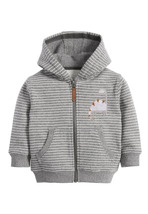 DINO APPLIQU - Zip-up hoodie - grey