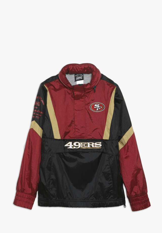 NFL SAN FRANCISO 49ERS - Cortaviento - gym red/club gold