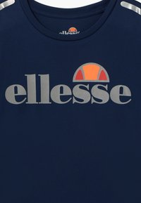 Ellesse - SANDON PERFORMANCE TEE - T-shirt print - navy - 3