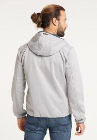Schmuddelwedda - Outdoor jacket - hellgrau melange - 2