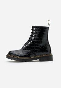Dr. Martens - 1460 PASCAL - Lace-up ankle boots - black - 1