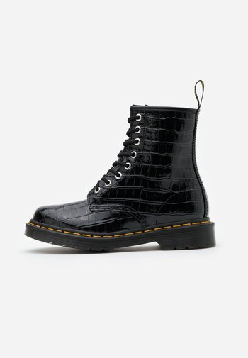 1460 PASCAL - Lace-up ankle boots - black