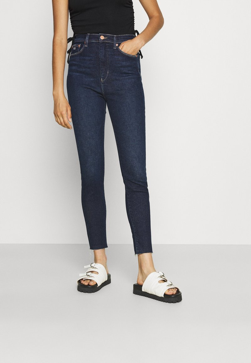 Tommy Jeans - MELANY UHR ANKLE - Jeans Skinny Fit - fjord