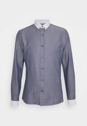 FLINT SHIRT - Formal shirt - charcoal